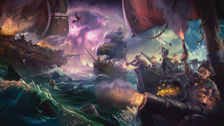 Sea of Thieves océan déchaîné