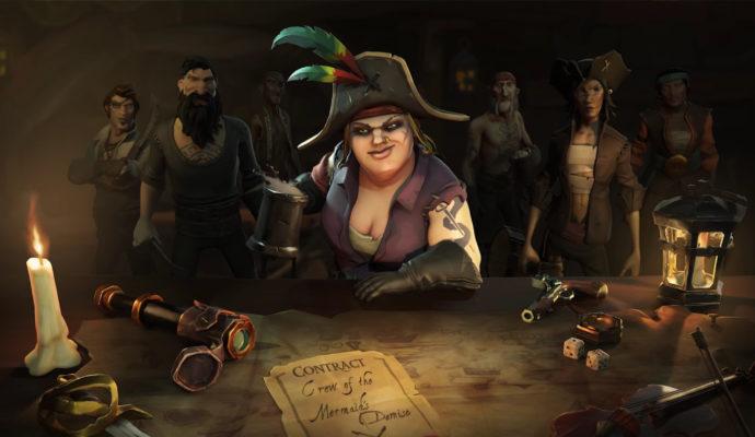 Sea of Thieves Devenir pirate