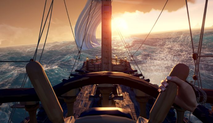 Sea of Thieves – A bord d'un bateau