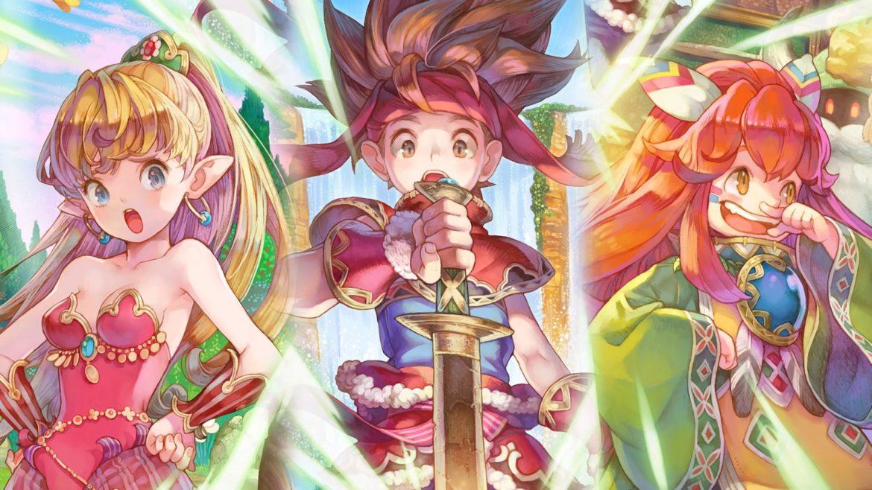 Remake Legend of Mana sur PlayStztion 4