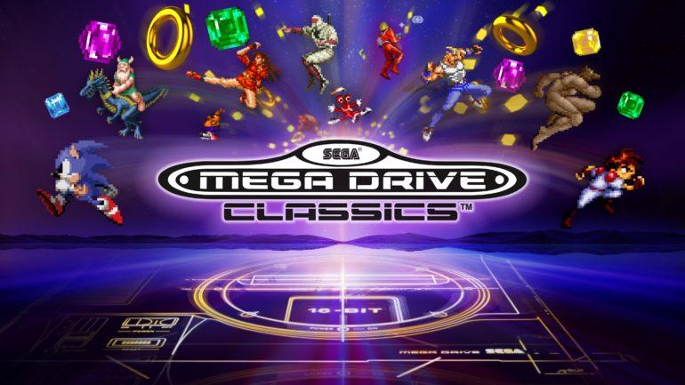 SEGA Mega Drive Classics logo
