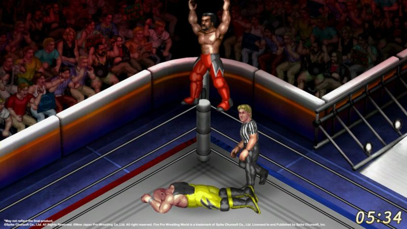 Spike Chunsoft fire pro wrestling world