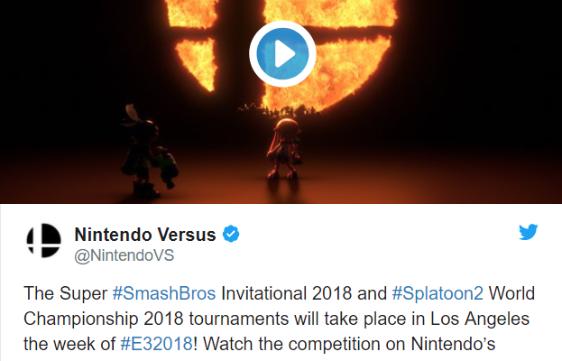 Super Smash Bros - Invitation