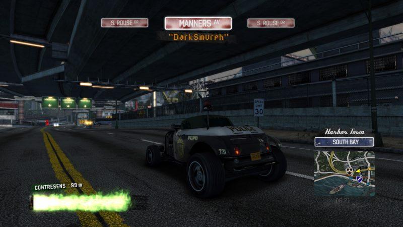 Test Burnout Paradise Remastered - Voiture police