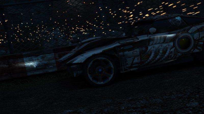 Test Burnout Paradise Remastered - crash voiture extraterrestre