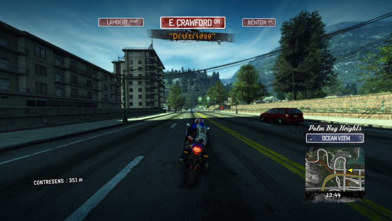 Test Burnout Paradise Remastered - moto