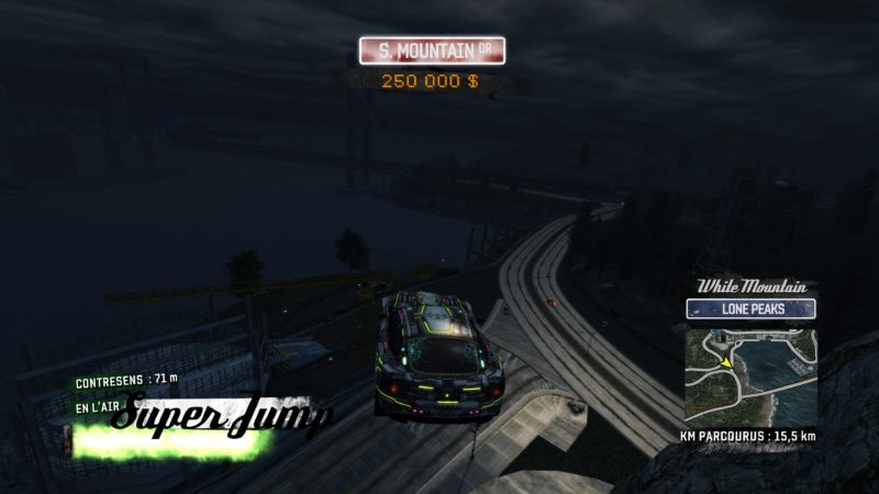 Test Burnout Paradise Remastered - Super jump