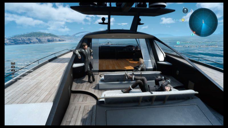 Test Final Fantasy XV DLC Pack Royal - Il est pas beau mon bateau ?
