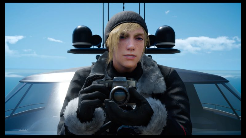 Test Final Fantasy XV DLC Pack Royal - Prompto