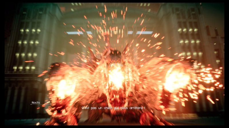 Test Final Fantasy XV DLC Pack Royal - Cerberus