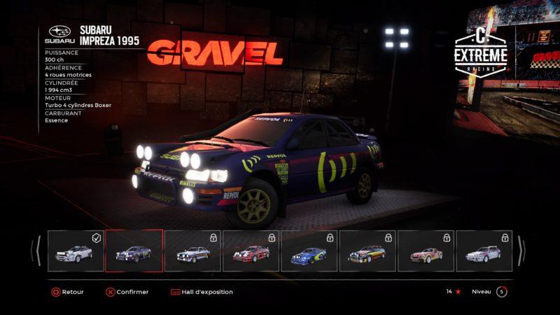 Test Gravel - Subaru impreza 1995
