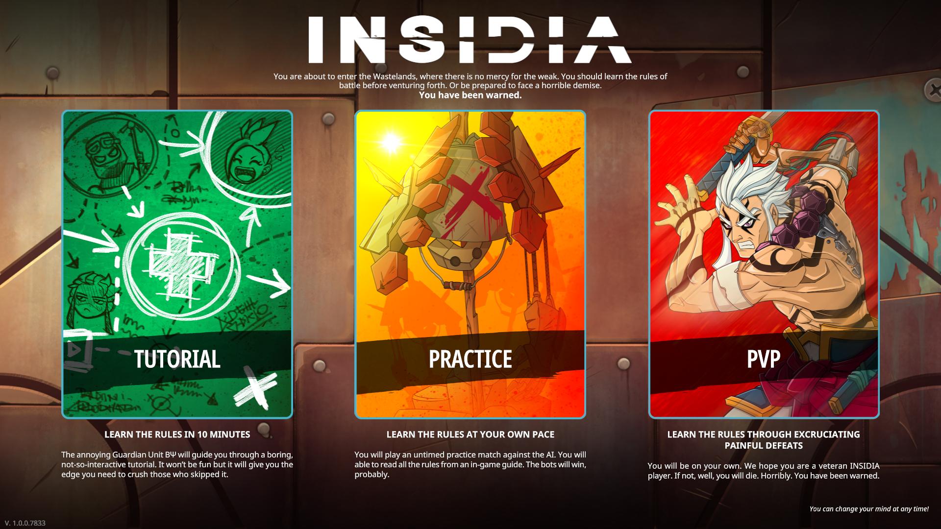 Insidia - Didacticiel