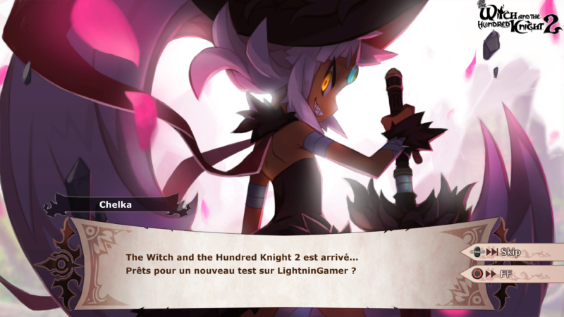The Witch and the Hundred Knight 2 - Chelka intro