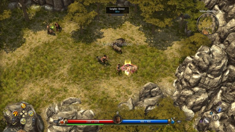 Titan Quest interface