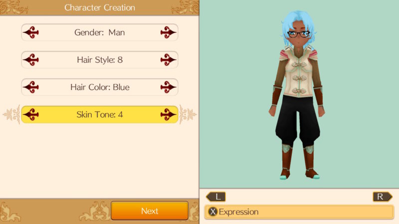 World Neverland: Elnea Kingdom - Create your Character
