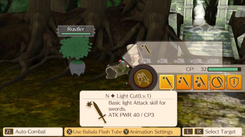 World Neverland: Elnea Kingdom - Option Combat