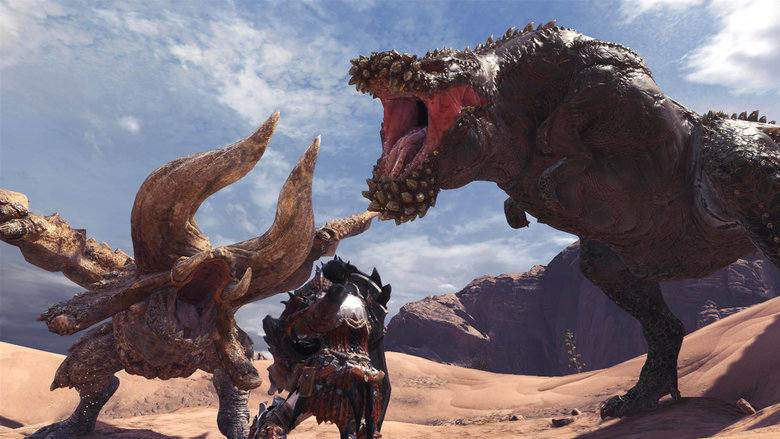 Monster Hunter World - Devil Jho et Diablos