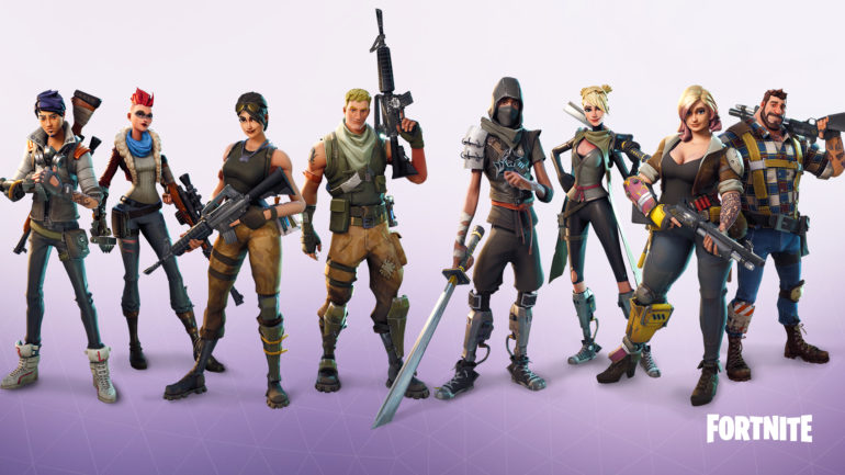 Fortnite - personnages