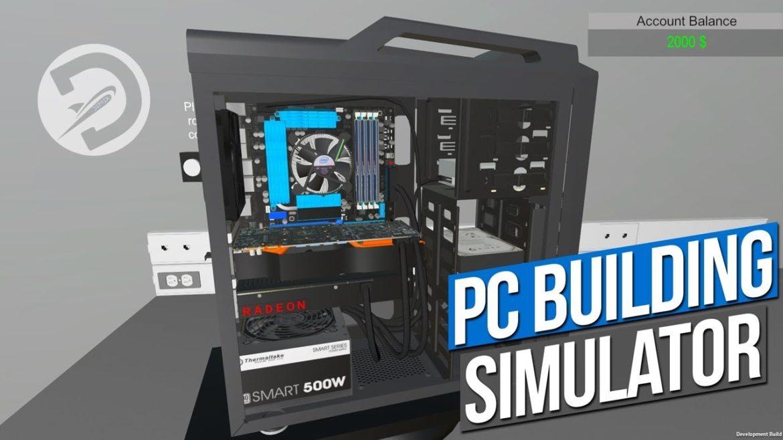 PC Building Simulator - titre