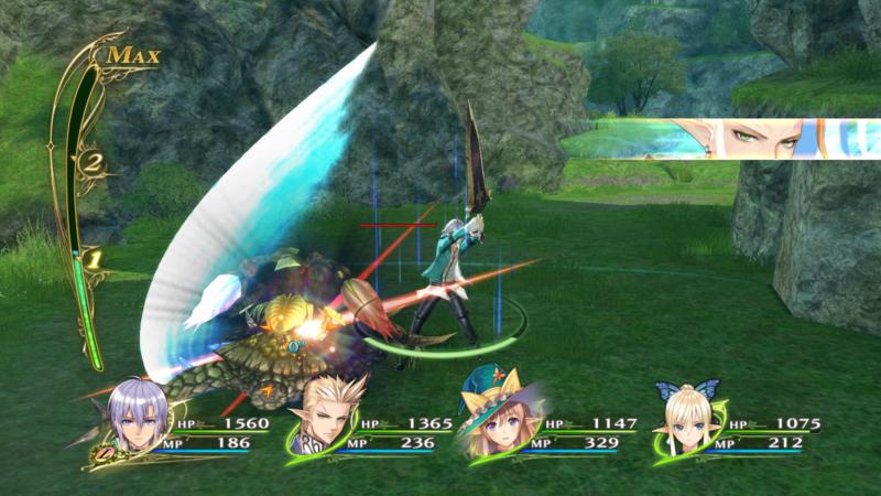 Shining Resonance Refrain combat