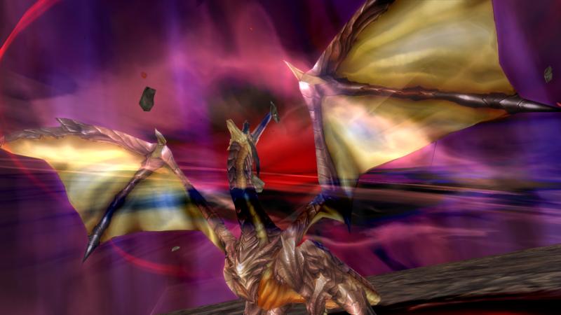 Shining Resonance Refrain dragon
