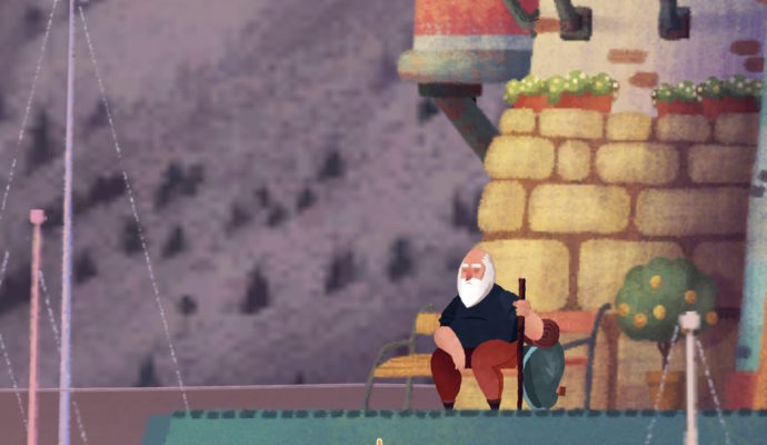 Old Man's Journey petite pause