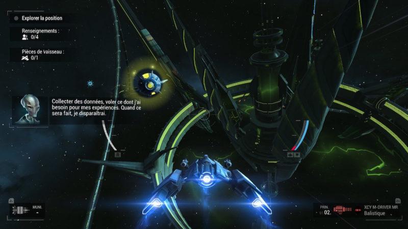 Manticore: Galaxy on Fire - chasse au trésor