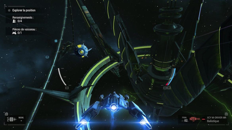 Manticore: Galaxy on Fire - Drone jaune