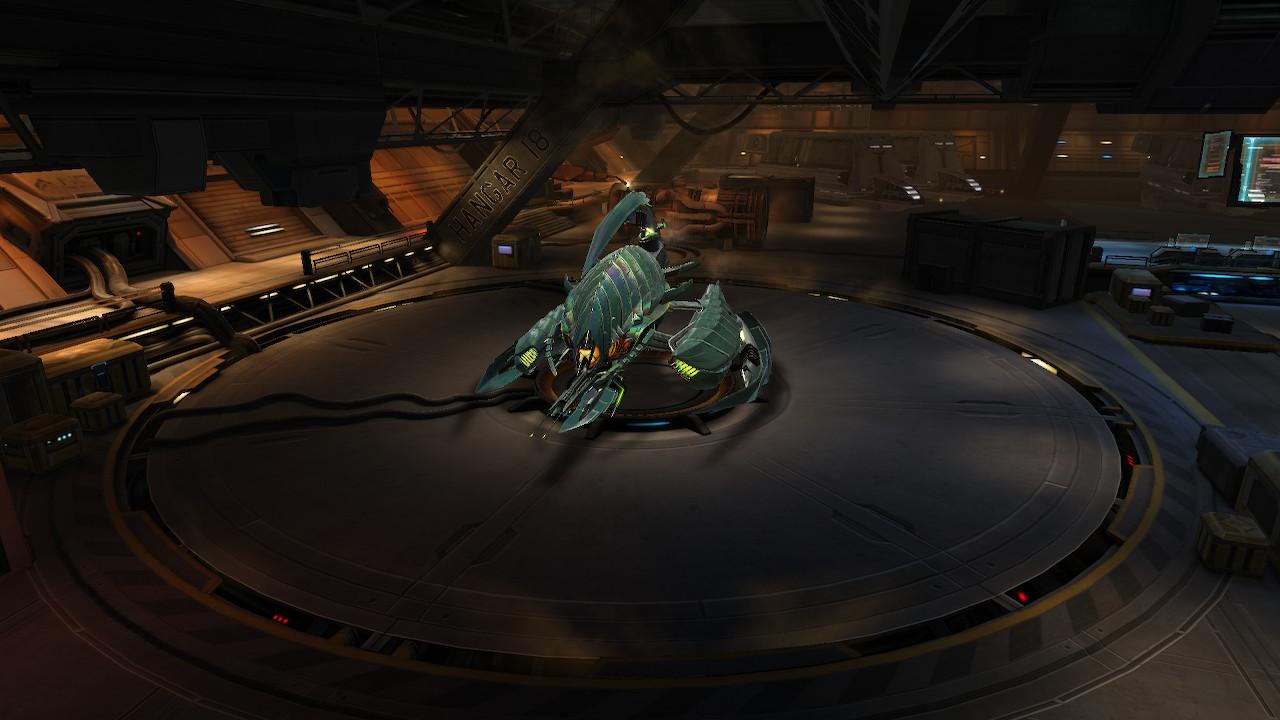 Manticore: Galaxy on Fire - garage à b... Vaisseaux