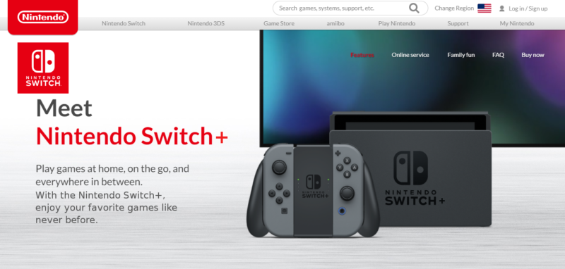 Nintendo Switch April's fool