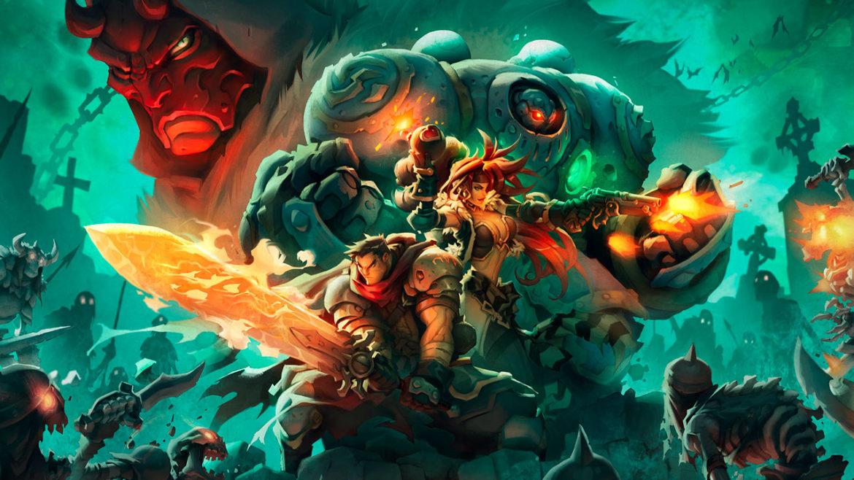 Battle Chasers: Nightwar - Artwork