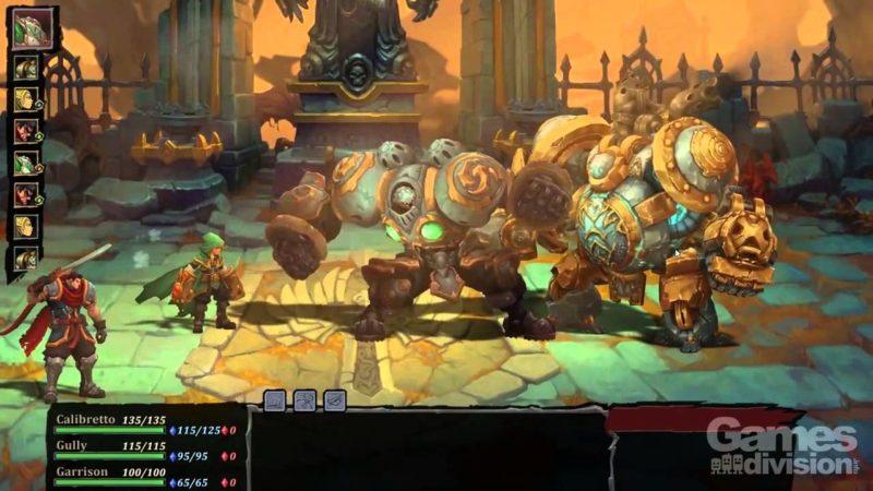 Battle Chasers: Nightwar - Fight Scene