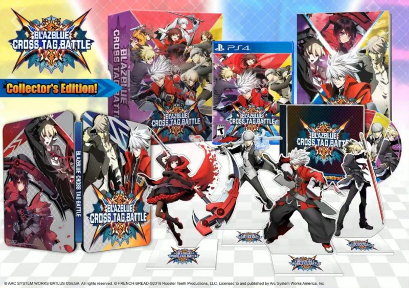 BlazBlue Cross Tag Battle Collector américain