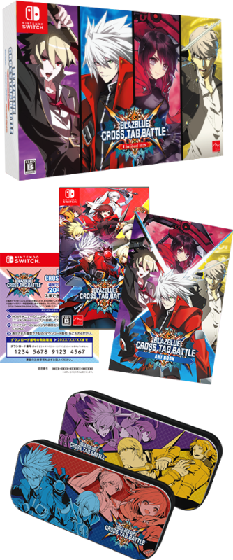 BlazBlue Cross Tag Battle switch