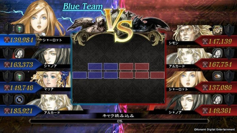 Castlevania: Grimoire of Souls versus