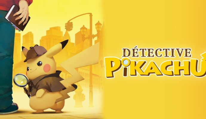 Détective Pikachu - Logo du jeu
