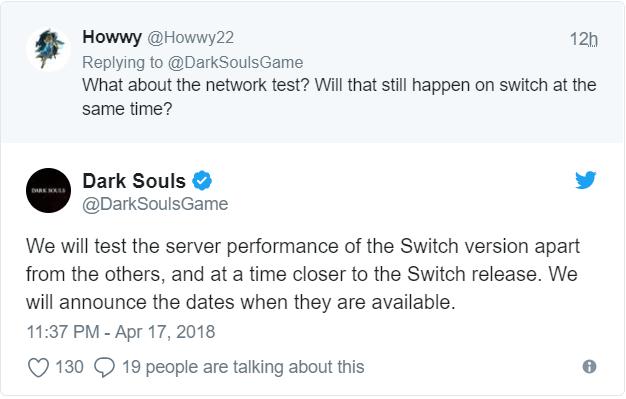 Dark Souls Remastered - Report test réseau