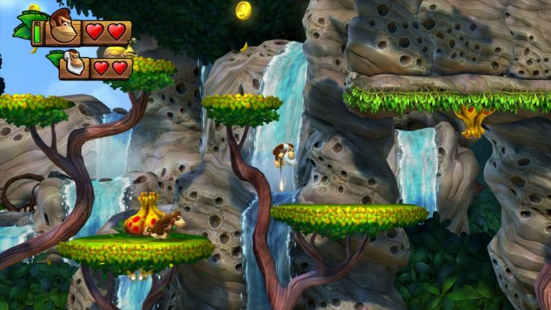 Donkey Kong Country: Tropical Freeze gameplay