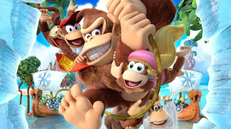 Donkey Kong Country: Tropical Freeze Donkey et sa bande