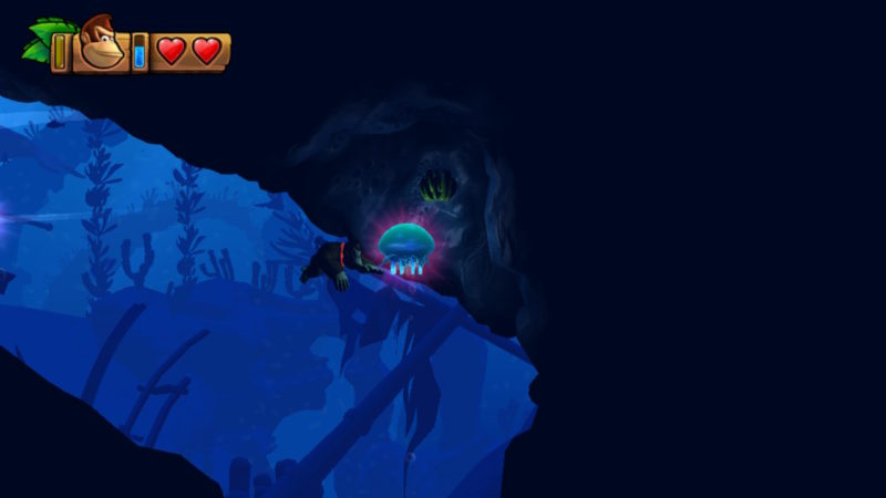 Donkey Kong Country: Tropical Freeze - Effets sous-marins