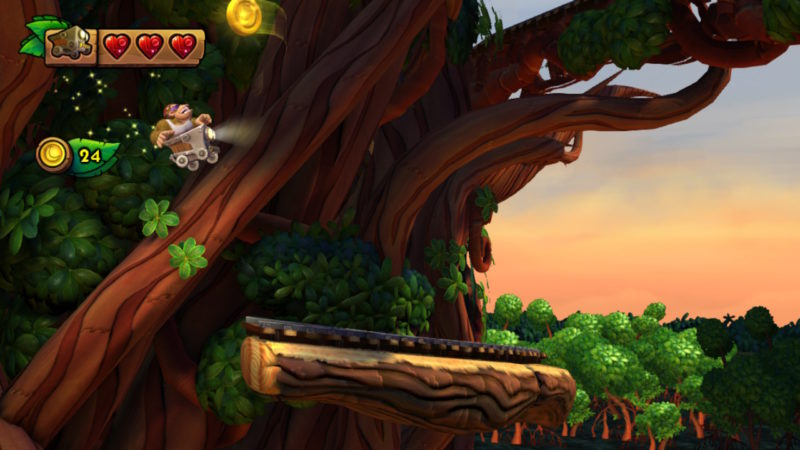 Donkey Kong Country: Tropical Freeze - Funky's Mine Cart