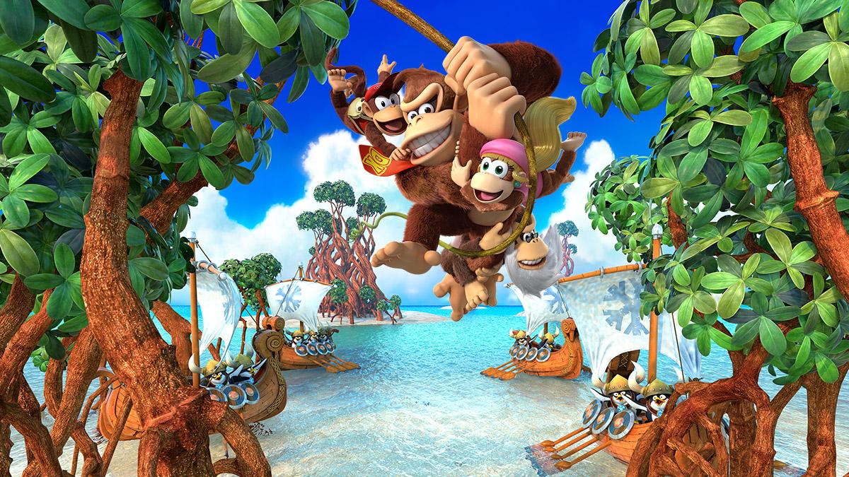 Donkey Kong Country: Tropical Freeze - Image Pub
