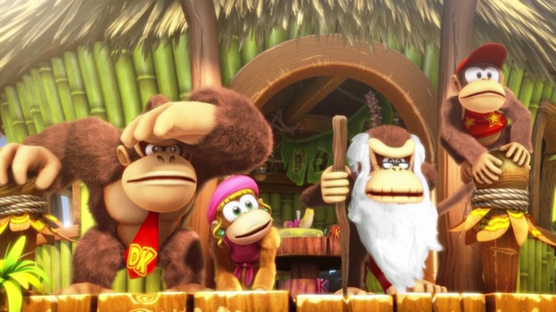 Donkey Kong Country: Tropical Freeze - la Team au complet