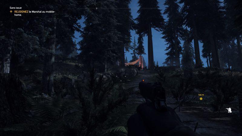 Far Cry 5 forêt