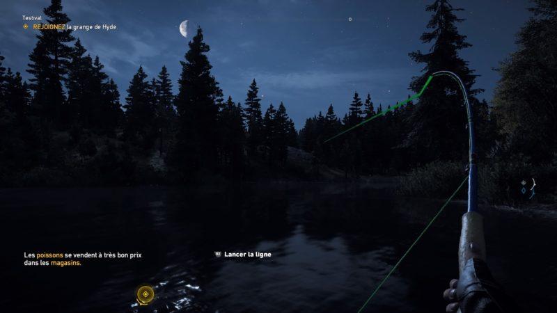 Far Cry 5 pêche