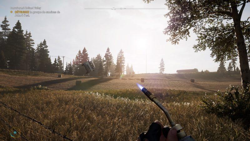 Far Cry 5 voiture volante