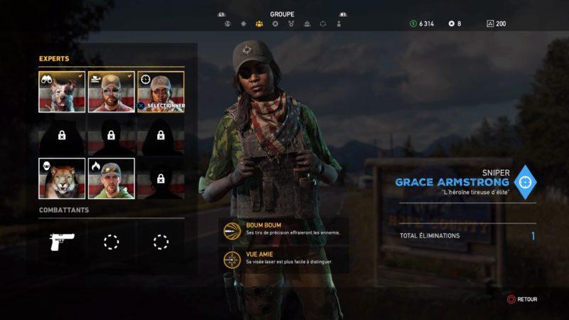 Far Cry 5 mercenaire