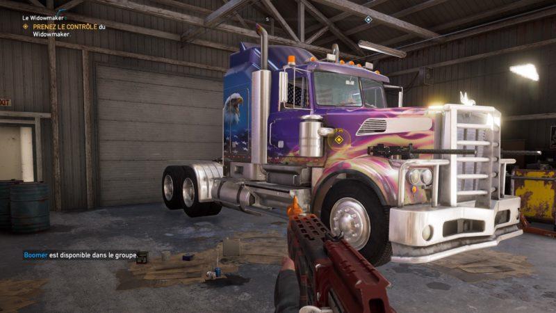 Far Cry 5 camion