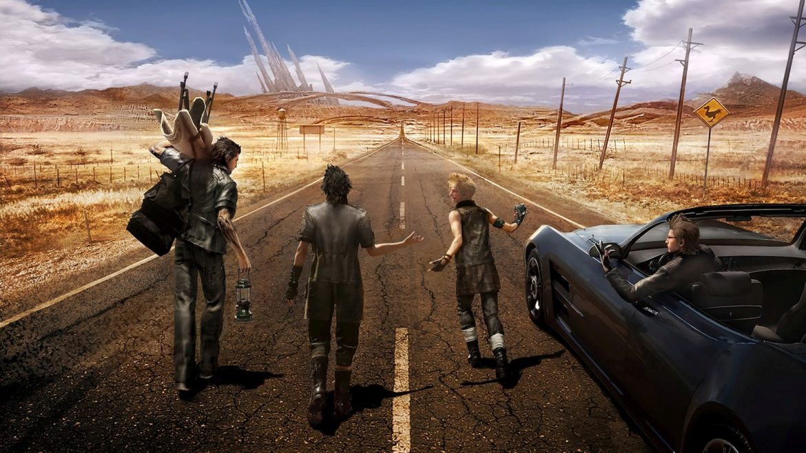 Final Fantasy XV sur la route