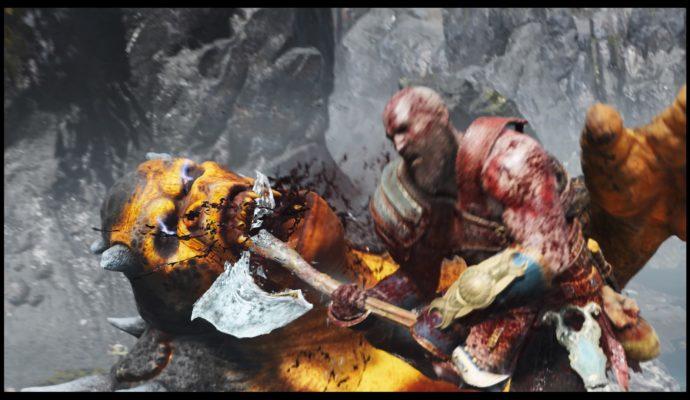 God of War sur PlayStation 4